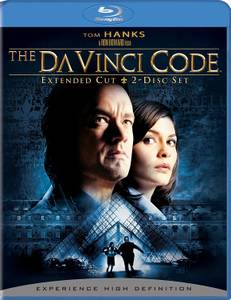 The DaVinci Code (Blu-ray Disc, 2009, 2-Disc) Extended Cut Tom Hanks (South