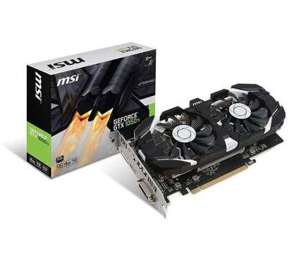 MSI nVIDIA GeForce GTX 1050 TI OC 4GB GDDR5 DVI/HDMI/DisplayPort PCI-E Video Car