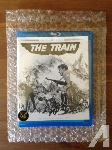 Burt Lancaster Classic: 'The Train' Bluray (Oop) for Sale