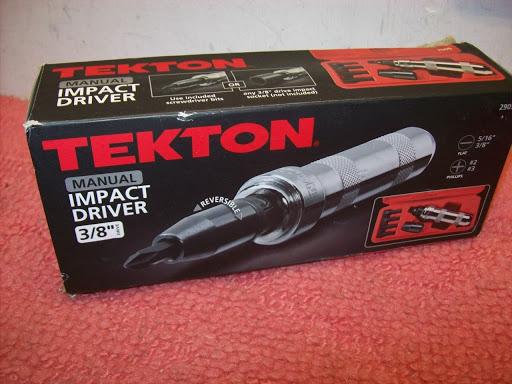Tekton Screwdriver Set 3/8 in. Drive Impact 7 Piece Hand