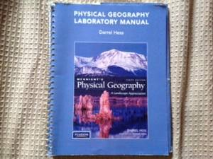 Phisical Geography 1 unit laboratory manual