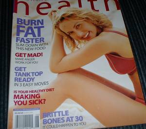 100's Health & Nutrition Magazines Cheap! (Santa Monica)