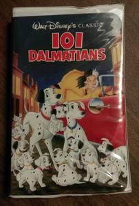 Disney's 101 Dalmatians vhs (Black Diamond Classic) (Las Vegas)