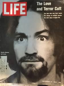 Rare Charles Manson Cover Life Magazine December 1969 (Redondo Beach)