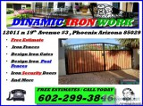 DINAMIC IRON Security Gates Doors Pool Fences Free Estimate