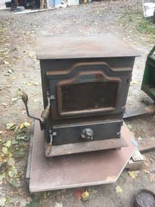 Harmen Coal Stove with water heater (parkton)