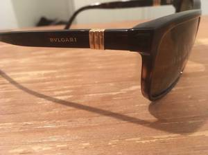18k gold solid italy sunglasses blvgari mens (nyc)