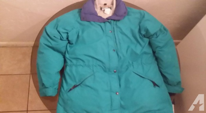 Women's, Lg, LLBean, Goose Down, Winter Coat