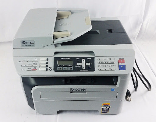Brother MFC-7440N Compact Laser All-in-One Printer Copier