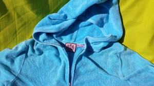 Turquoise Juicy Couture Hoodie Sweat Shirt Women's junior Size XL (North Tacoma)
