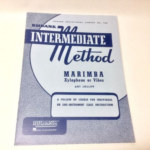 Rubank Intermediate Method Marimba Xylophone or Vibes -