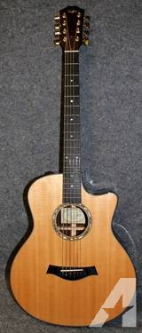 2009 Taylor Baritone 8 String GT-8 Grand Symphony Acoustic Electric