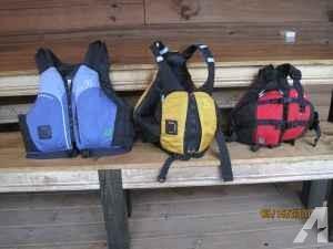 3 Kayak (astral) life jackets - $120 (Chattanooga)