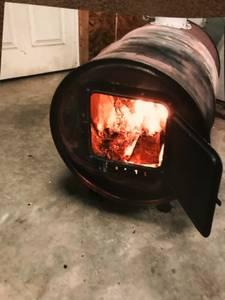 55 gallon barrel wood burning stoves