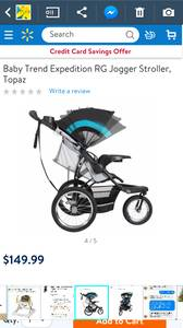 Baby Trend Expedition RG Jogging Stroller (Southside)