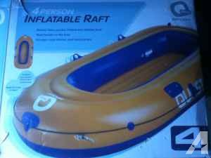 Quest Sport 4 person raft - $80 (Champlain Ny)