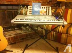 Electronic Keyboard and Stand -