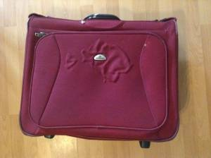 Hanging garment suitcase, Samsonite (Pahoa)
