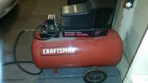 30 Gallon Craftsman Air Compressor (Davis, IL)