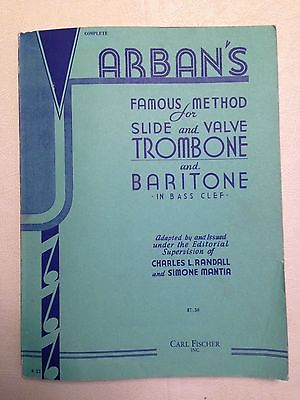Arban's Famous Method for Trombone and Baritone