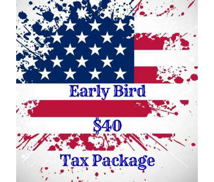 Early Bird Tax Package