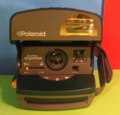 Vintage Polaroid One Step Express 600 Instant Film Camera