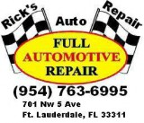 Rick s Auto Service Oil Change Special () - ( Nw