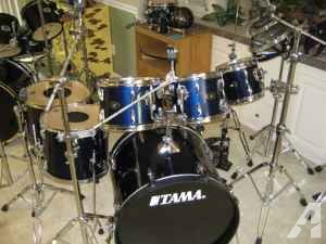 Tama 7 PC Imperialstar with Cymbals - $750 (Middleburg)