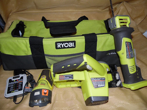 Ryobi 12V Cordless Tool Set With Tool Bag