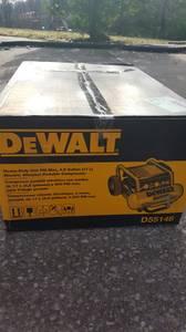 REDUCED**Brand New Dewalt 4.5 Gal. Portable Electric Air Compressor