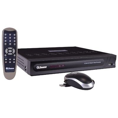 Swann DVR4-1250 4-Channel 500GB DVR Home Security System