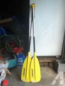 Canoe/Kayak/Raft paddles - $30 (Champlain Ny)