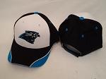 Carolina Panthers Blue/Black/White Adjustable Hat Cap OSFA