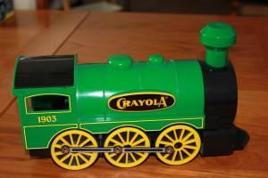 Crayola Train crayon caddy (Wilmot and I-10)