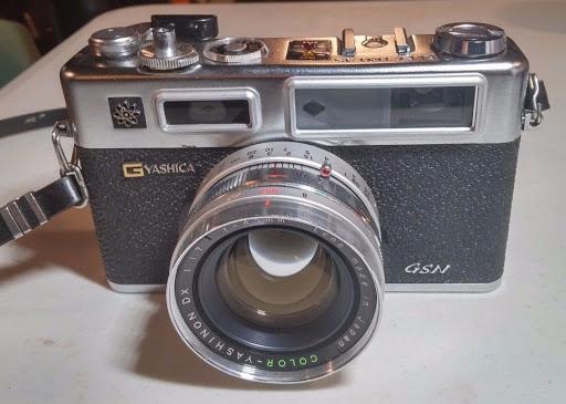 Vintage Yashica Electro 35mm GSN Film Camera w/ f/1.7