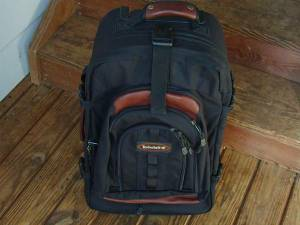 New Timberland Rolling Carry On Luggage
