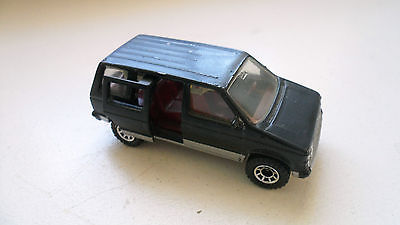 Rare Vtg Matchbox 1983 1984 Black Dodge Caravan Toy Car
