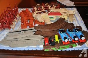 Toy train rails and Trains over 55 pieces - $20 (Lexington,40513)