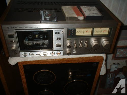Sony Stereo Cassette Deck Tc-Kii (Rare) Like New