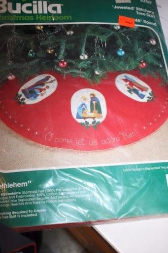 Christmas BUCILLA Felt Holiday Craft Applique 45
