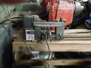 Wood lathe (Mapleton)