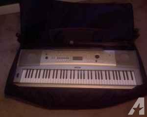 Yamaha Keyboard w/case & extras - $200 (Norfolk)