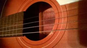 Guitar with Case .. (Carroll)