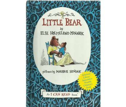 Vintage 1950s Childrens Book / Little Bear by Else Holmelund Minarik 1957 An I C
