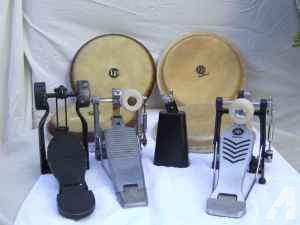 Misc. Hand Percussion, Yamaha BD pedals etc. - $1 (DTC)
