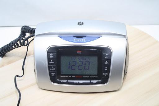 GE Atlinks 29297GE3-A AM/FM Stereo Dual Alarm Clock Radio
