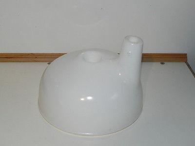 Vintage Old Blender mixer White glass funnel juicer?..