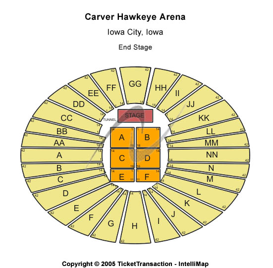 Tickets for Iowa Hawkeyes vs. Michigan Wolverines at Carver Hawkeye Arena in