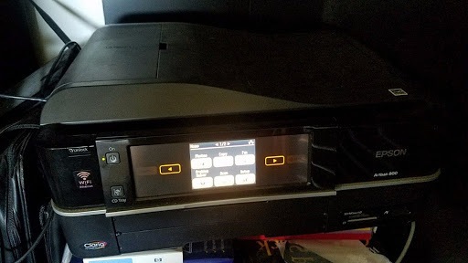 Epson Artisan 800 Wireless Photo All In One Printer As-Is