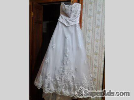 Wedding dress size 8 beautiful